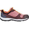 Jack Wolfskin Grivla Texapore Hiking Shoes Low Cut Girls dark red